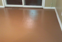 Painting linoleum vinyl floors chicly cheap home decor for Liquid lino floor paint